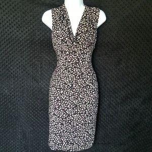 Ralph Lauren ruched waist dress draping 6